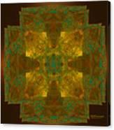 Templar Cross Canvas Print