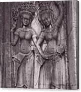 Temple Dancers Canvas Print