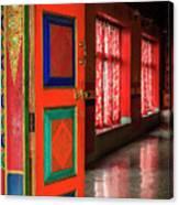 Temple Door Canvas Print