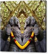 Temple God Canvas Print