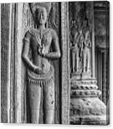 Temple Guardian Canvas Print