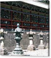 Temple Lanterns  Canvas Print