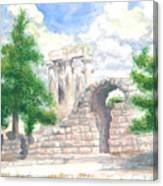 Temple Of Apollo - Corinth Canvas Print