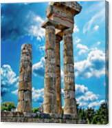 Temple Of Apollon Canvas Print