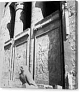 Temple Of Horus Canvas Print