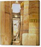 Temple Of Karnak  2 Canvas Print