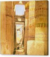 Temple Of Karnak  Canvas Print