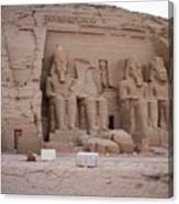 Temple Of Rameses II Canvas Print