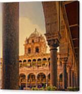 Temple Of The Sun Canvas Print