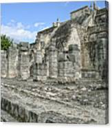 Temple Of The Warriors - Chichen Itza - Mexico Canvas Print