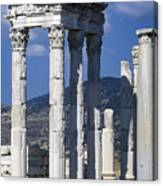 Temple Of Trajan View 1 Canvas Print