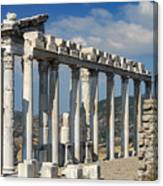 Temple Of Trajan View 3 Canvas Print