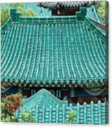 Temple Roofs Canvas Print