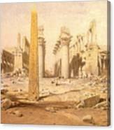 Temple Ruins  Canvas Print