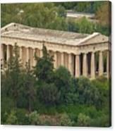 Temple To Zeus Canvas Print