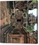 Temples Siem Reap Cambodia Worship  Canvas Print