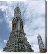 Temples, Thailand Canvas Print