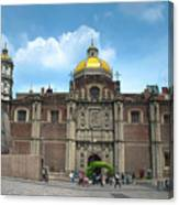Templo Expiatorio A Cristo Rey - Mexico City Canvas Print