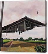 Temporary Series-dilapidated Canvas Print