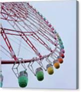 Tempozan Ferris Wheel Canvas Print