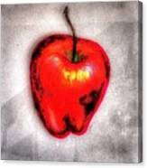 Temptation Apple Canvas Print