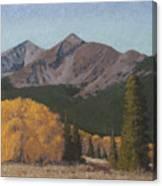 Ten Mile Autumn Canvas Print