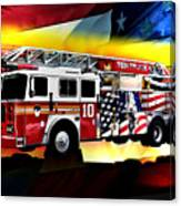Ten Truck Fdny Canvas Print