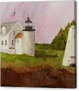 Tenants Harbor Light Canvas Print