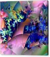 Tending Toward Flowers Canvas Print