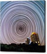 Tenerife Star Trails Canvas Print