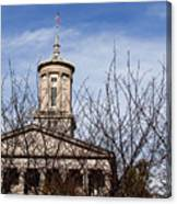 Tennessee State Capitol Building Canvas Print