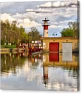 Tenney Lock - Madison - Wisconsin Canvas Print