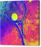 Tennis Art Version 1 Canvas Print