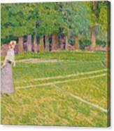 Tennis At Hertingfordbury Canvas Print