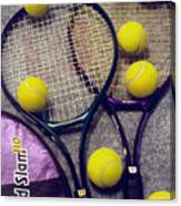 Tennis Still Life 2 Canvas Print
