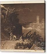 Tenth Plague Of Egypt Canvas Print