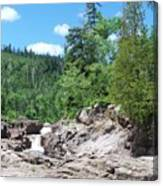 Teperance River Upper Falls Canvas Print
