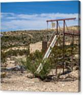 Terlingua Ghost Town #5 Canvas Print