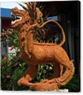 Dragon Statue Canvas Print