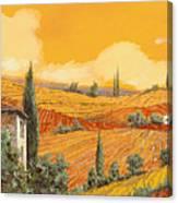 terra di Siena Canvas Print