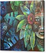 Terra Pacifica By Reina Cottier Nz Artist Canvas Print