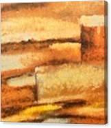 Terra Rossa Canvas Print