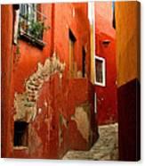 Terracotta Alley Canvas Print
