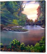 Terracotta Crossing Sold Canvas Print
