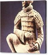 Terracotta Soldier Canvas Print