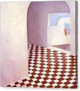 Terracotta Tile Canvas Print