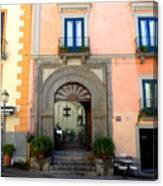 Terrazza Marziale Restaurant In Sorrento Canvas Print