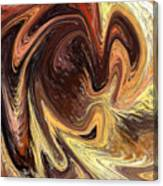 Terrestrial Vortex Abstract Canvas Print