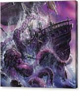 Terror From The Deep Canvas Print