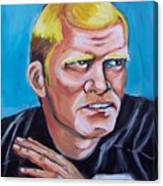 Terry Badshaw Rookie Canvas Print